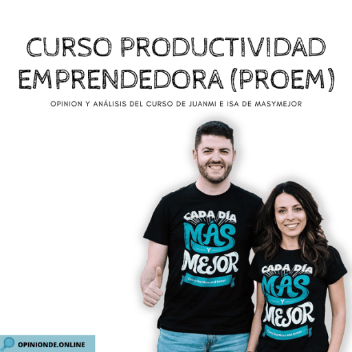 opinion del curso de productividad emprendedora