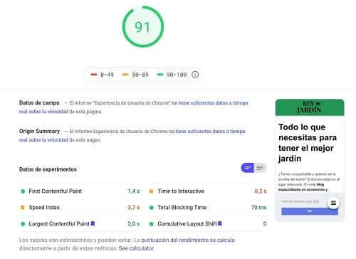 pagespeed de google raiola networks